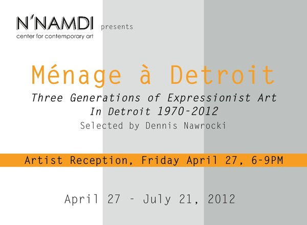 Menage a Detroit Card